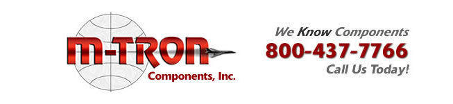 M-TRON Components, worldwide distributor of electronic components for military and commercial applications located in Ronkonkoma, NY